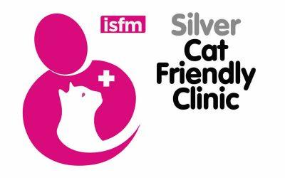 We achieve the ISFM Cat Friendly Clinic Award