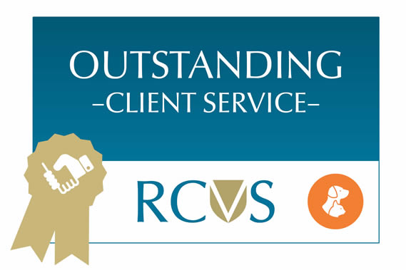 RCVS Outstanding Client Service Prospect House Vets