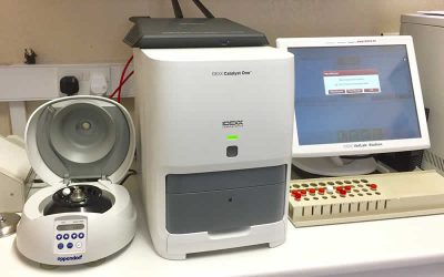 OUR NEW STATE OF THE ART LABORATORY EQUIPMENT HAS ARRIVED