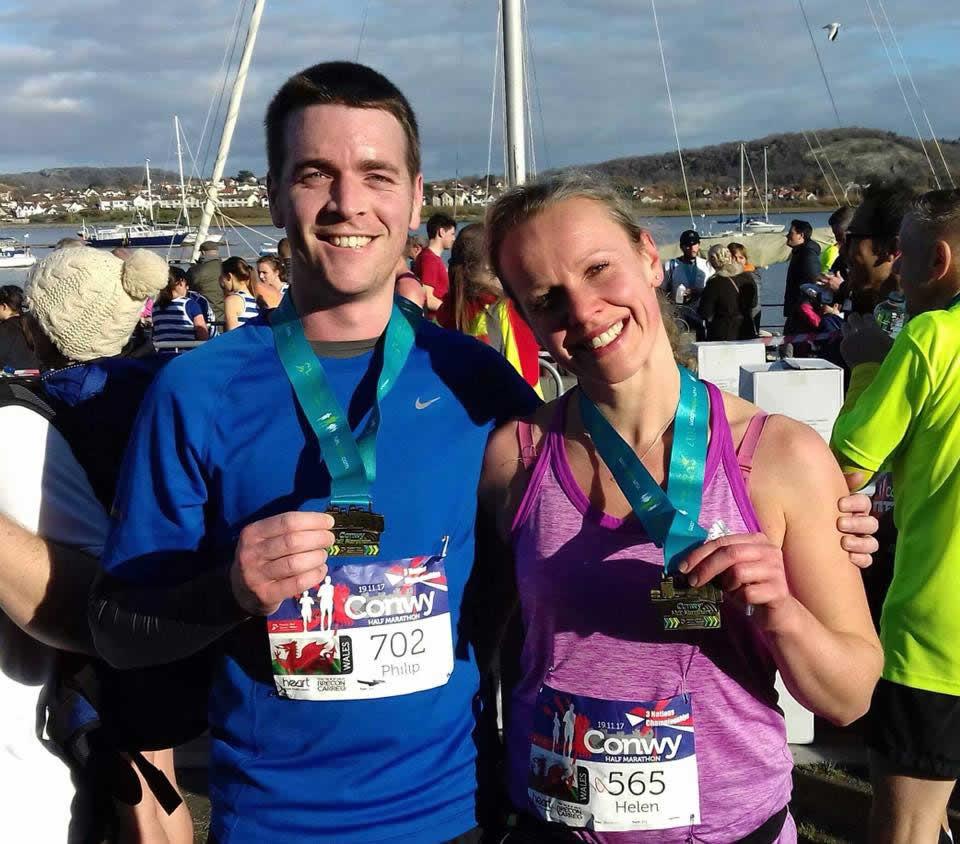 Prospect House Vets run Conwy half marathon